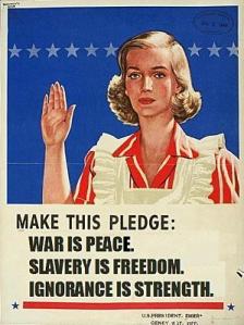 la liberté c'est l'esclavage