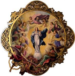 Vierge en gloire