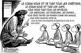 le coran nous dit de tuer tous les chretiens, les juifs, les infidèles…